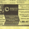 Empire Beauty School Yellow Page Ad
